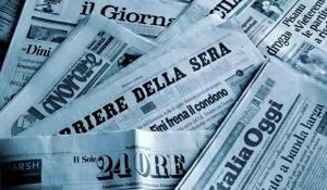 Pubblicità in calo sulla stampa