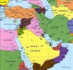 Cartina del Medioriente