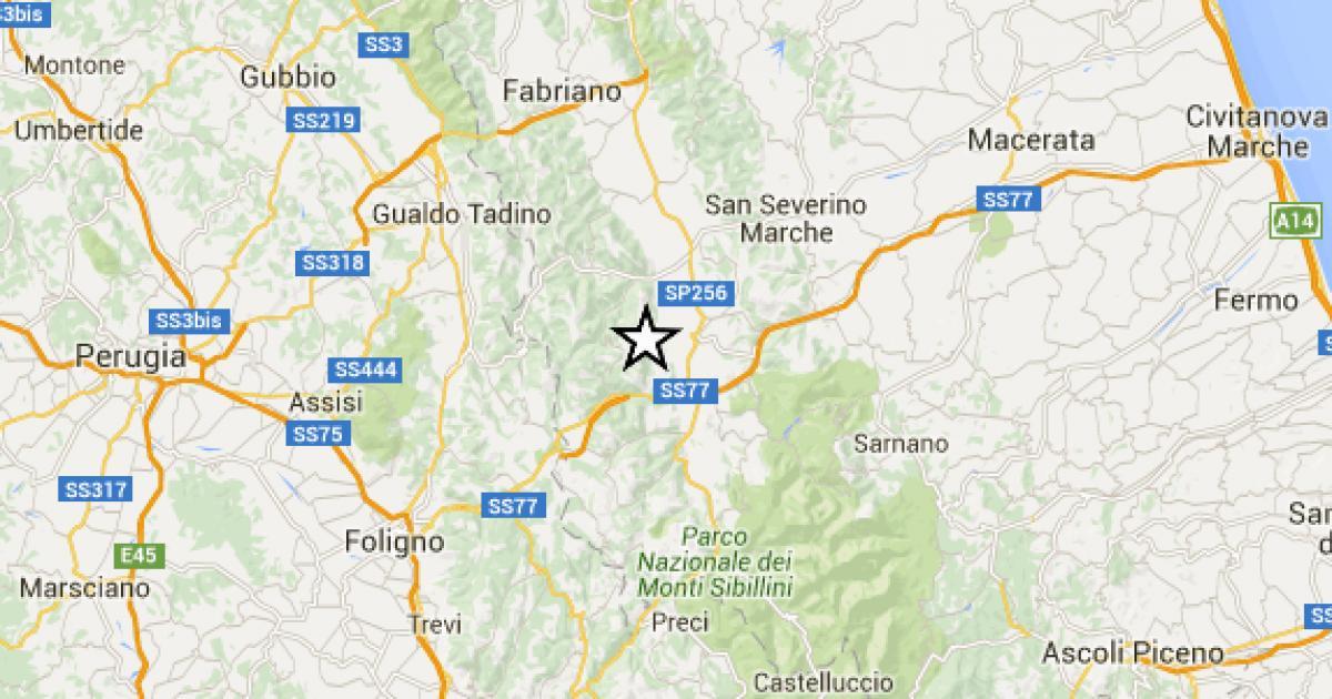 Quattro famiglie evacuate a Pieve Torina
