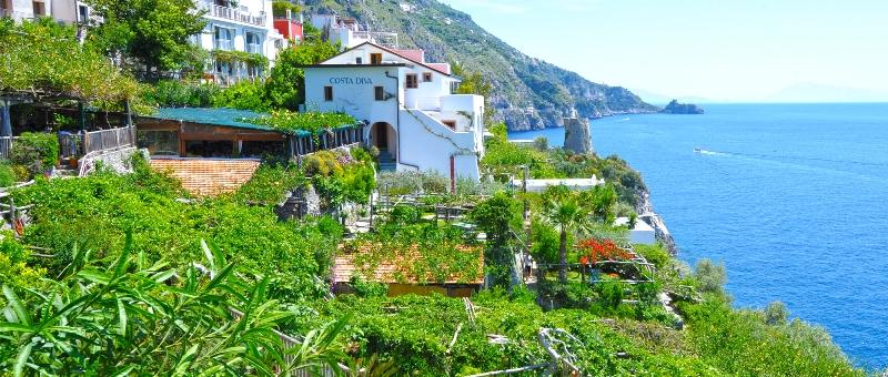Costiera amalfitana archivi e turismo for Costa diva