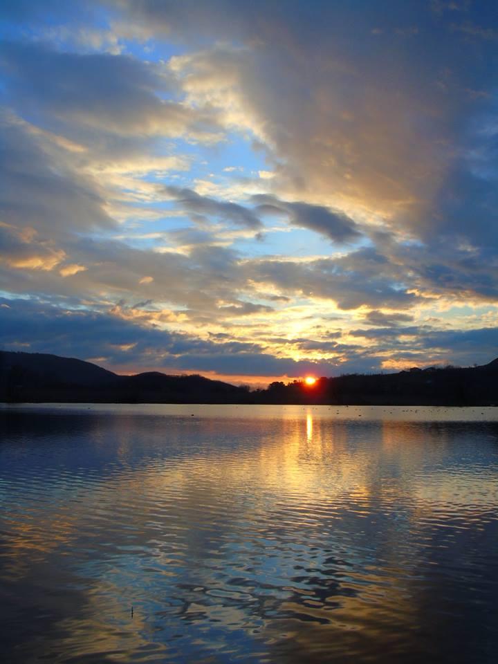 Tramonto al Lago di Posta Fibreno