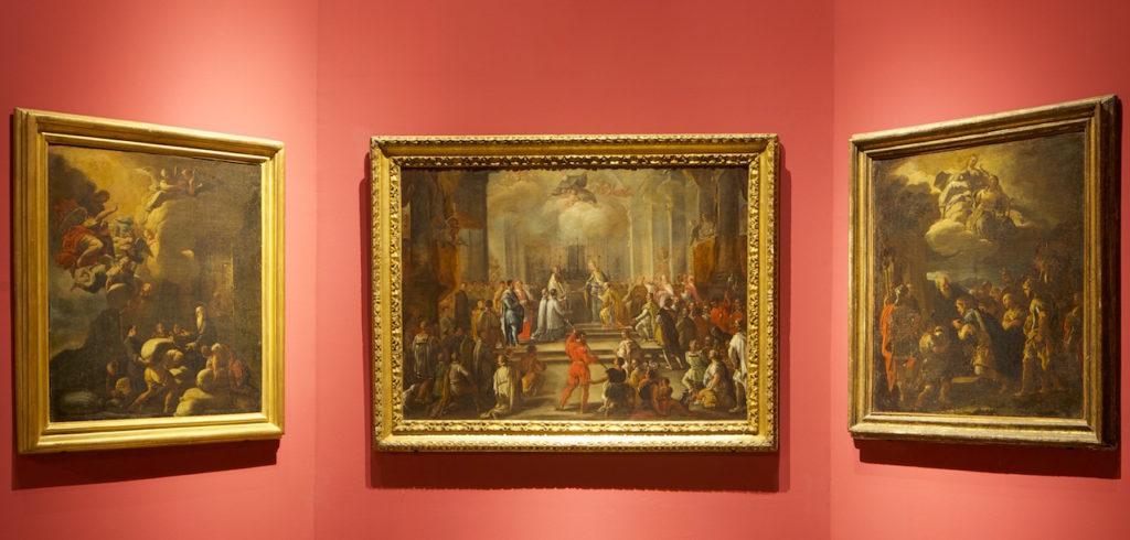 Il Museo dell'Abbazia di Montecassino, sala bozzetti